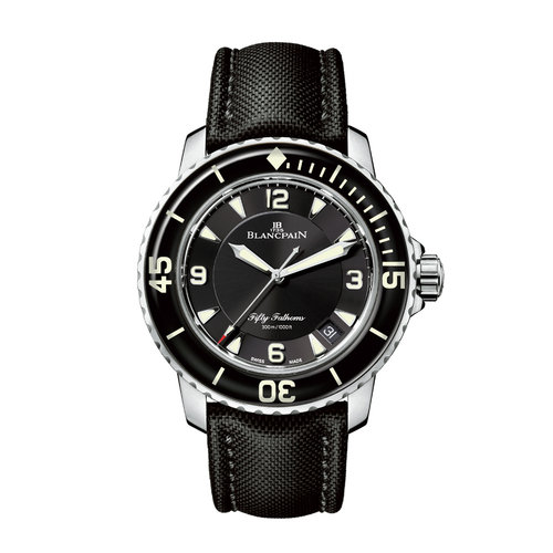 Blancpain Fifty Fathoms Automatique in staal Leon Martens Juwelier