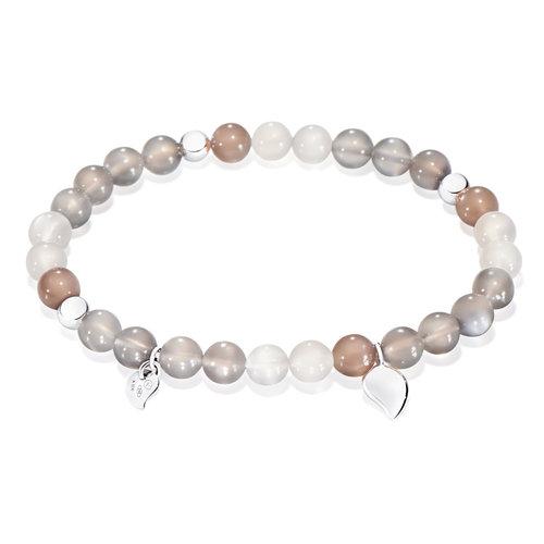 Tamara Comolli India Cashmere armband, maansteen en witgoud Leon Martens Juwelier