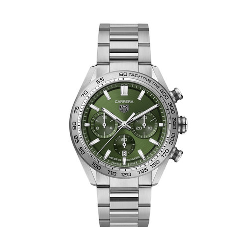 TAG Heuer Carrera Chronograph in staal Leon Martens Juwelier