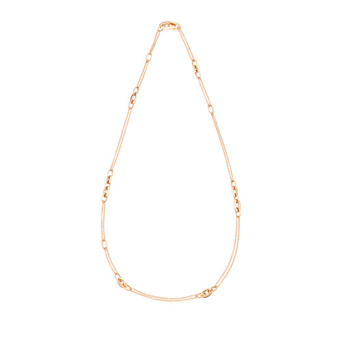 Pomellato Catene collier in roségoud Leon Martens Juwelier
