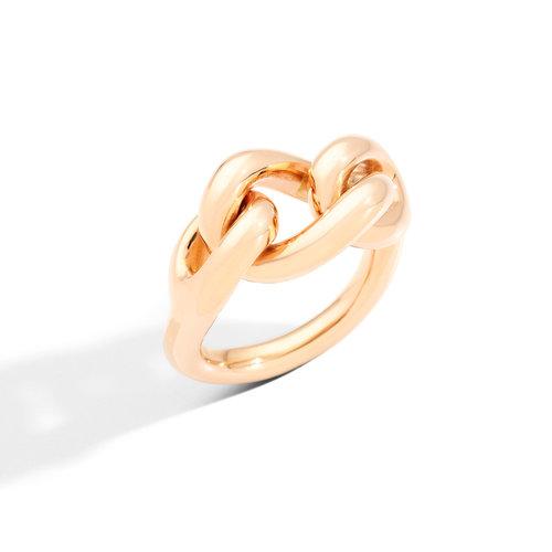 Pomellato Catene ring in roségoud Leon Martens Juwelier