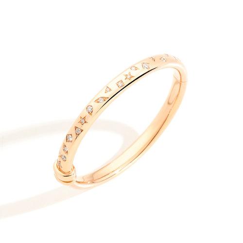 Pomellato Iconica armband in roségoud met diamant Leon Martens Juwelier