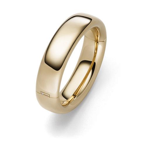 IsabelleFa Oval armband in roségoud Leon Martens Juwelier