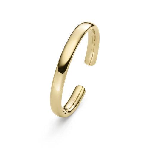 IsabelleFa Flix.Flex Oval armband in geelgoud Leon Martens Juwelier