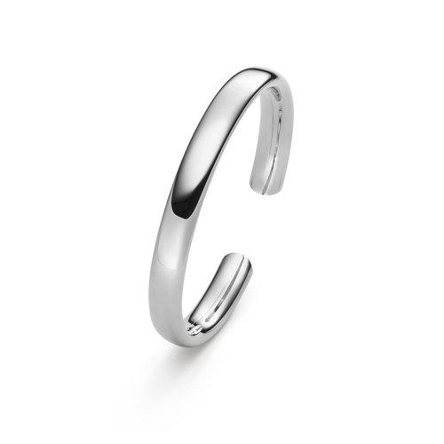 IsabelleFa Flix.Flex Oval armband in witgoud Leon Martens Juwelier