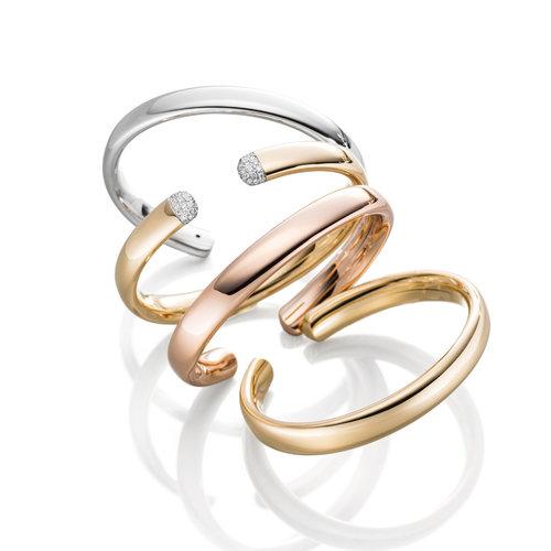IsabelleFa Flix.Flex Oval armband in roségoud Leon Martens Juwelier