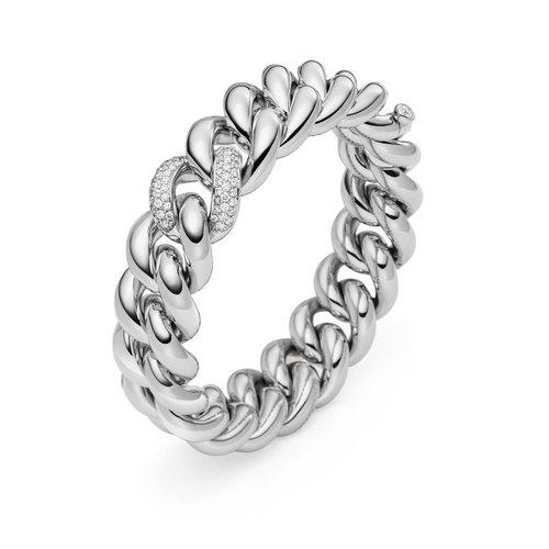 IsabelleFa Altesse armband in witgoud met diamant Leon Martens Juwelier