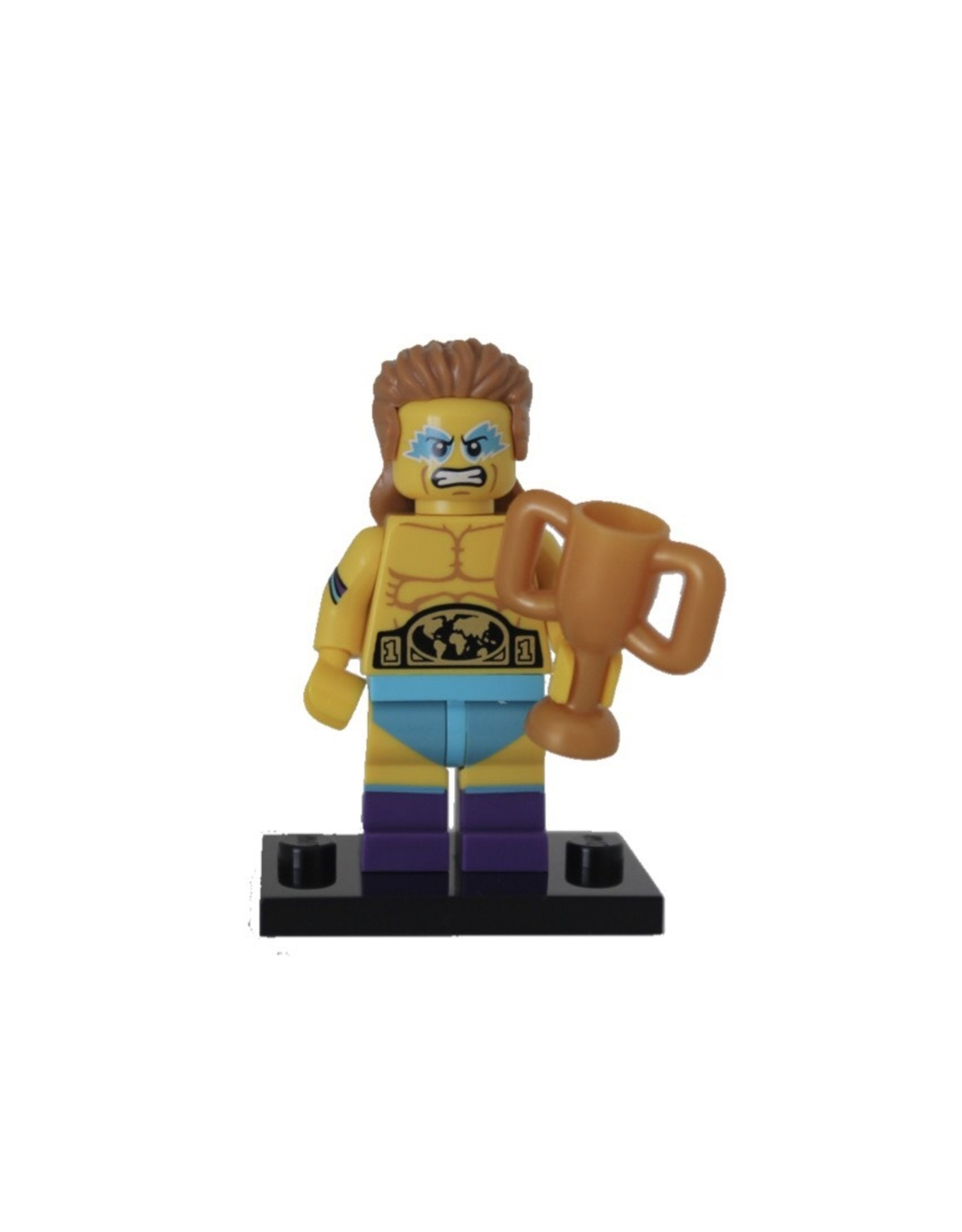 LEGO  LEGO Worstelkampioen  Minifiguur COL15-14