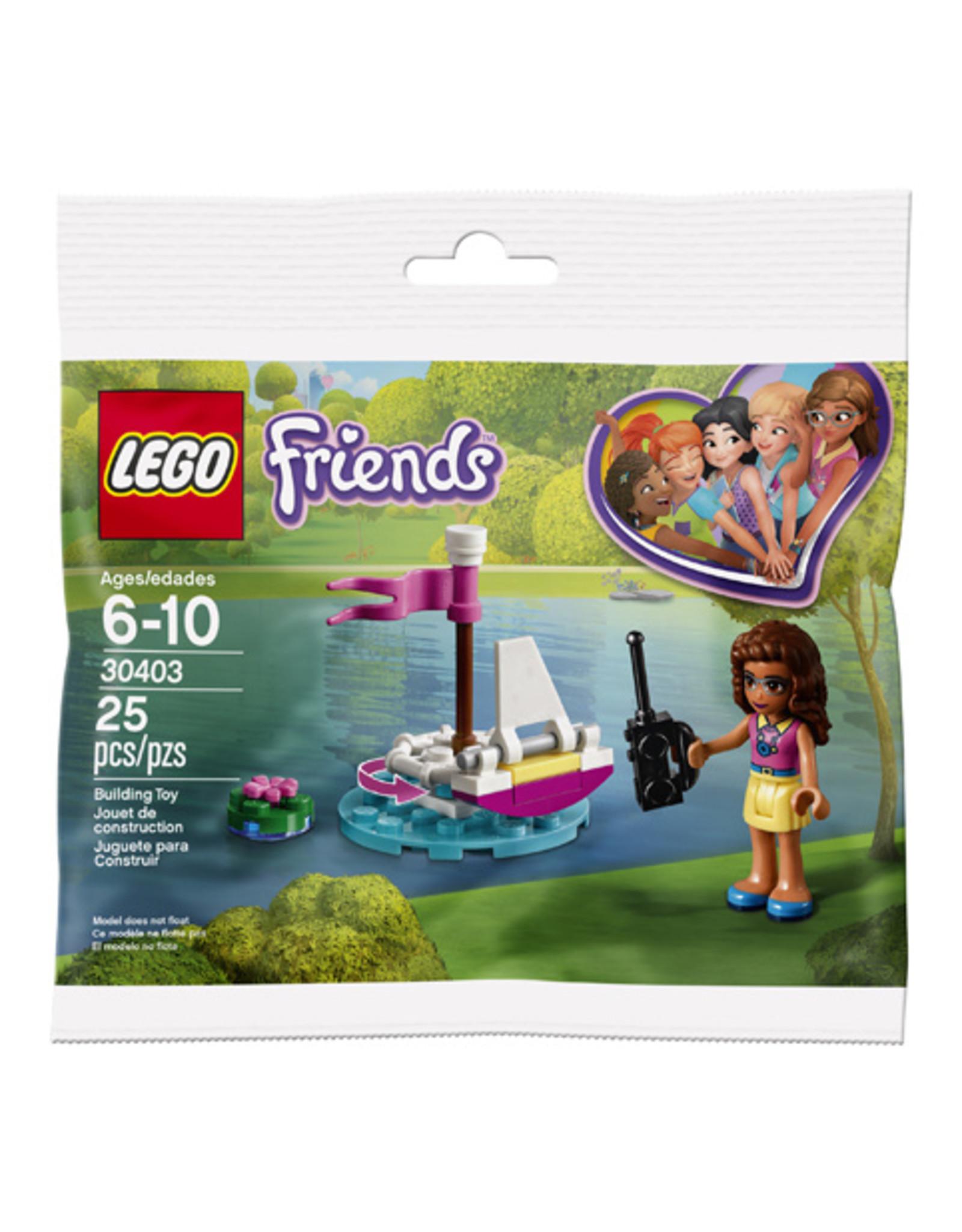 LEGO Friends 30403 Olivia's Afstandbestuurbare Boot (polybag)