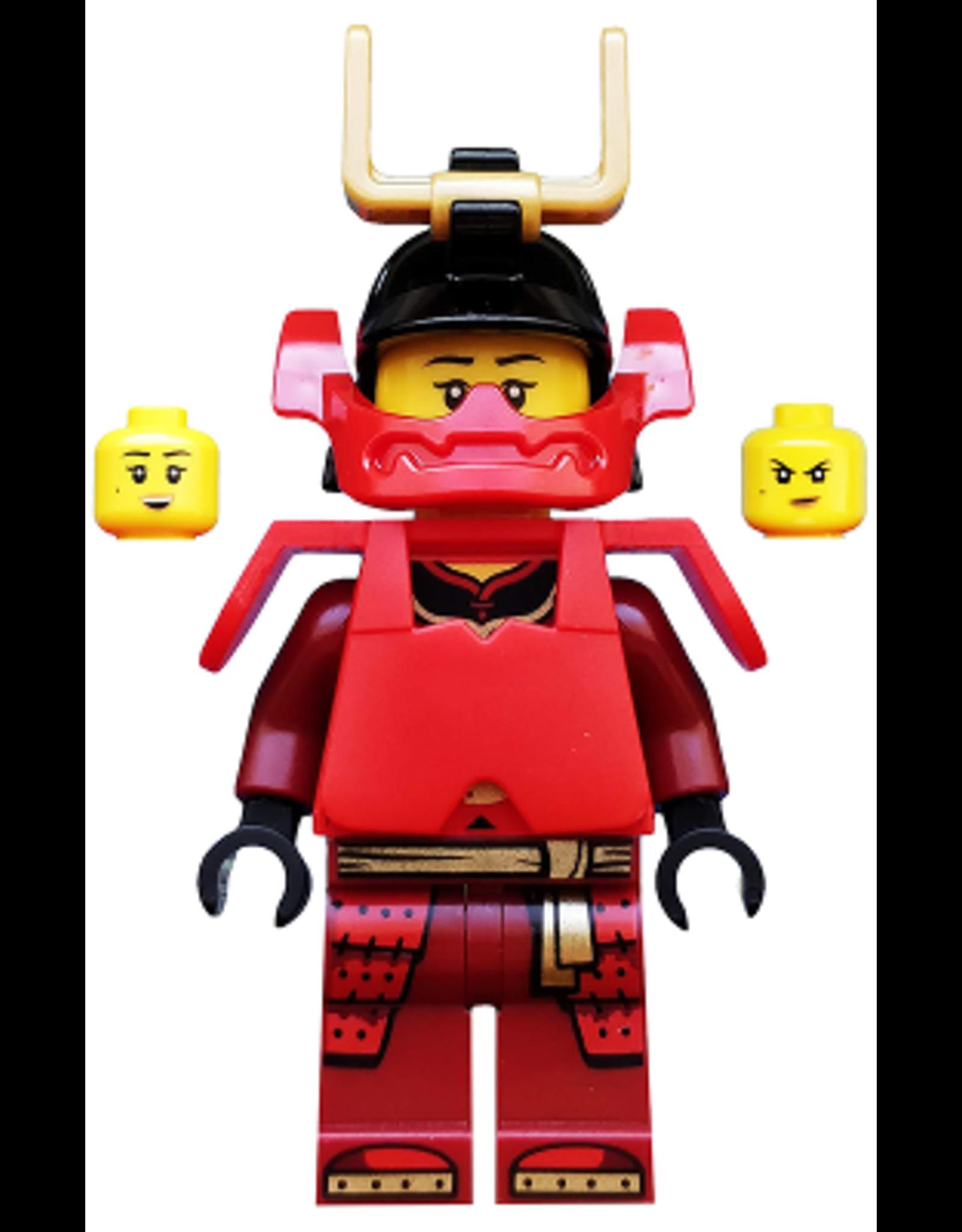 LEGO  LEGO Ninjago Samurai X minifiguur NJO502