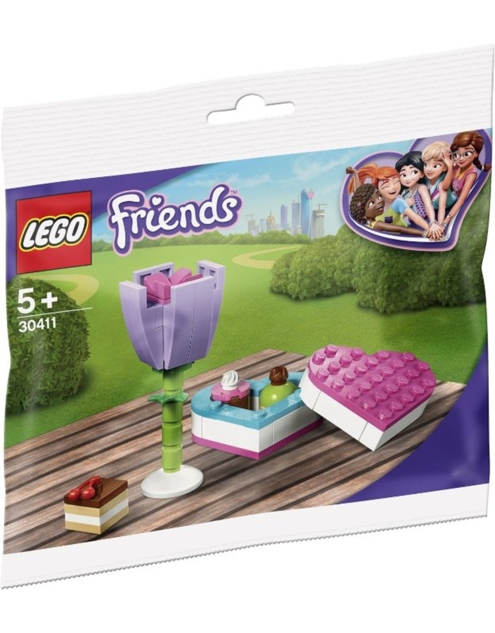 LEGO LEGO Friends 30411 Chocolate Box and Flower (Polybag)