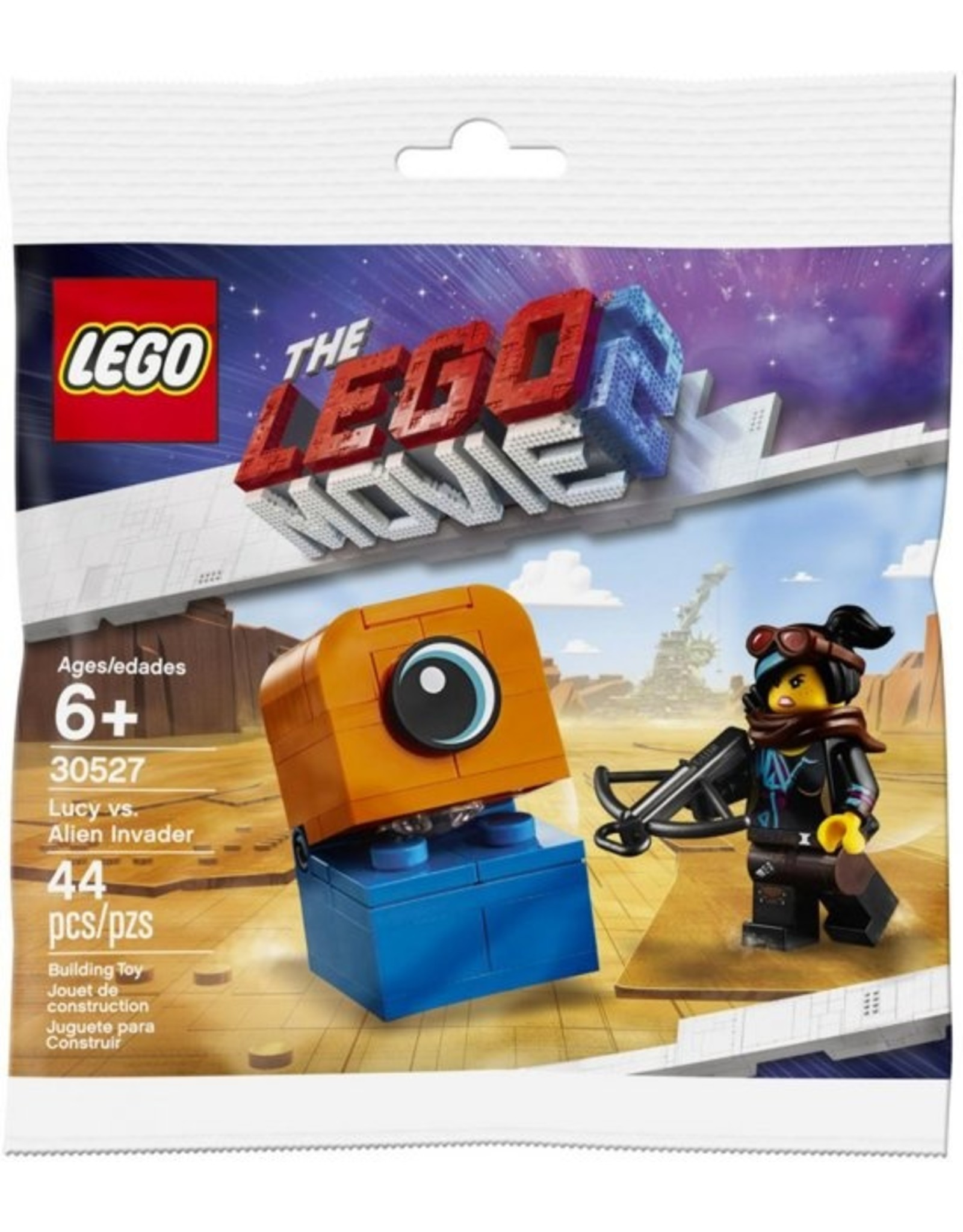 LEGO The LEGO Movie 2 30527 Lucy vs Alien Invader (Polybag)