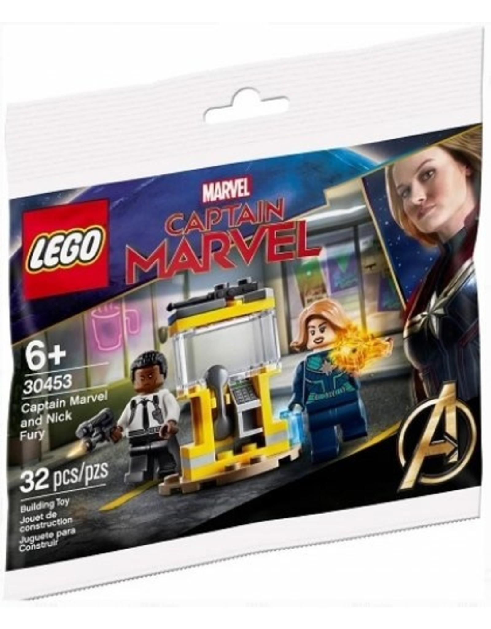 LEGO LEGO Super Heroes 30453 Captain Marvel en Nick Fury (Polybag)