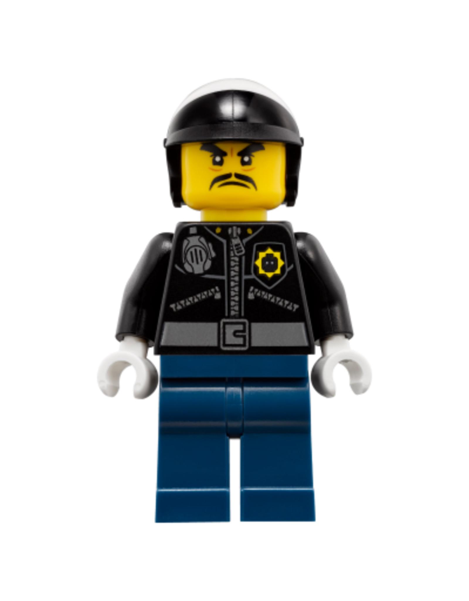 LEGO  LEGO Ninjago Officer Toque minifiguur NJO357