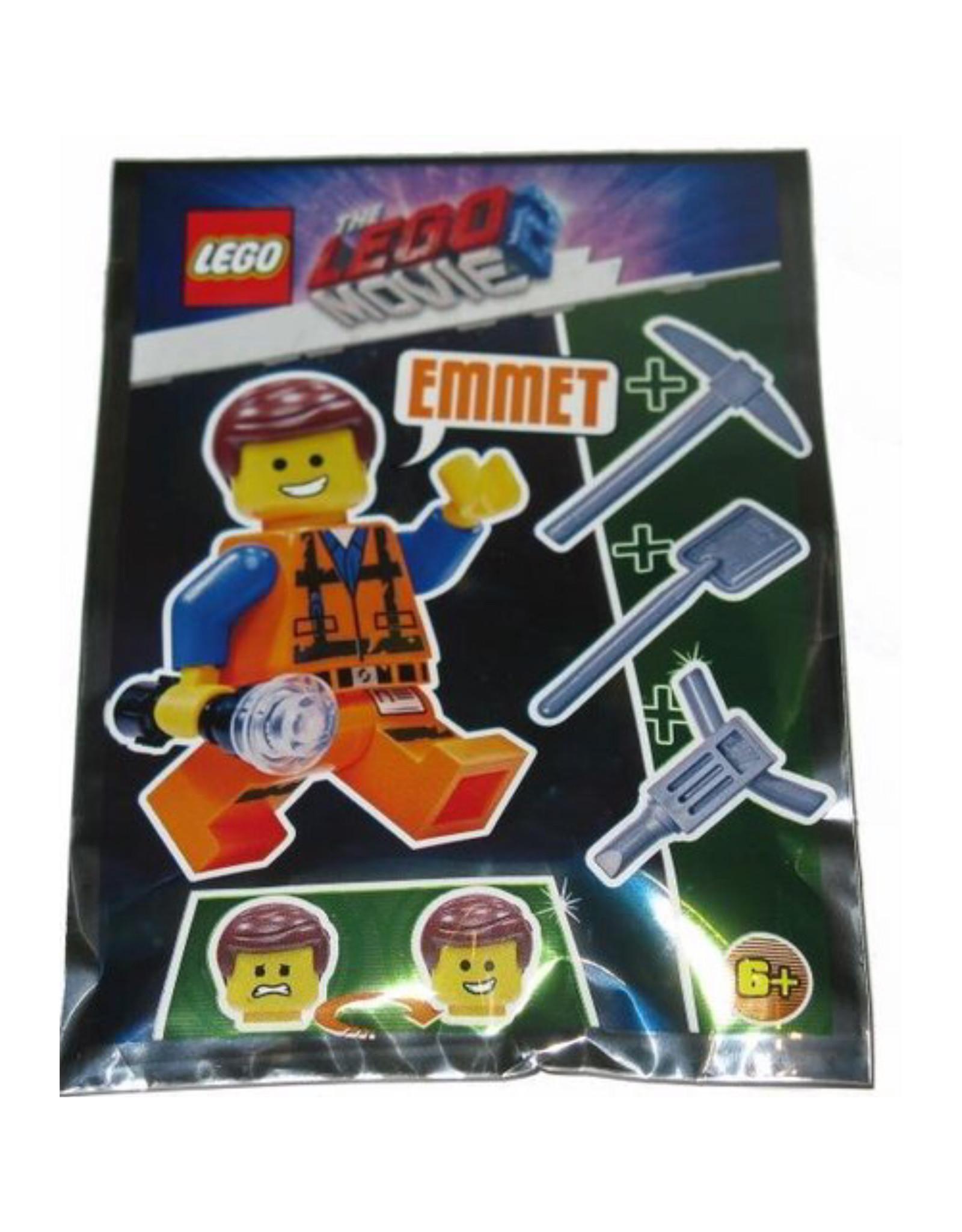 LEGO LEGO The Movie Emmet Minifiguur TLM125