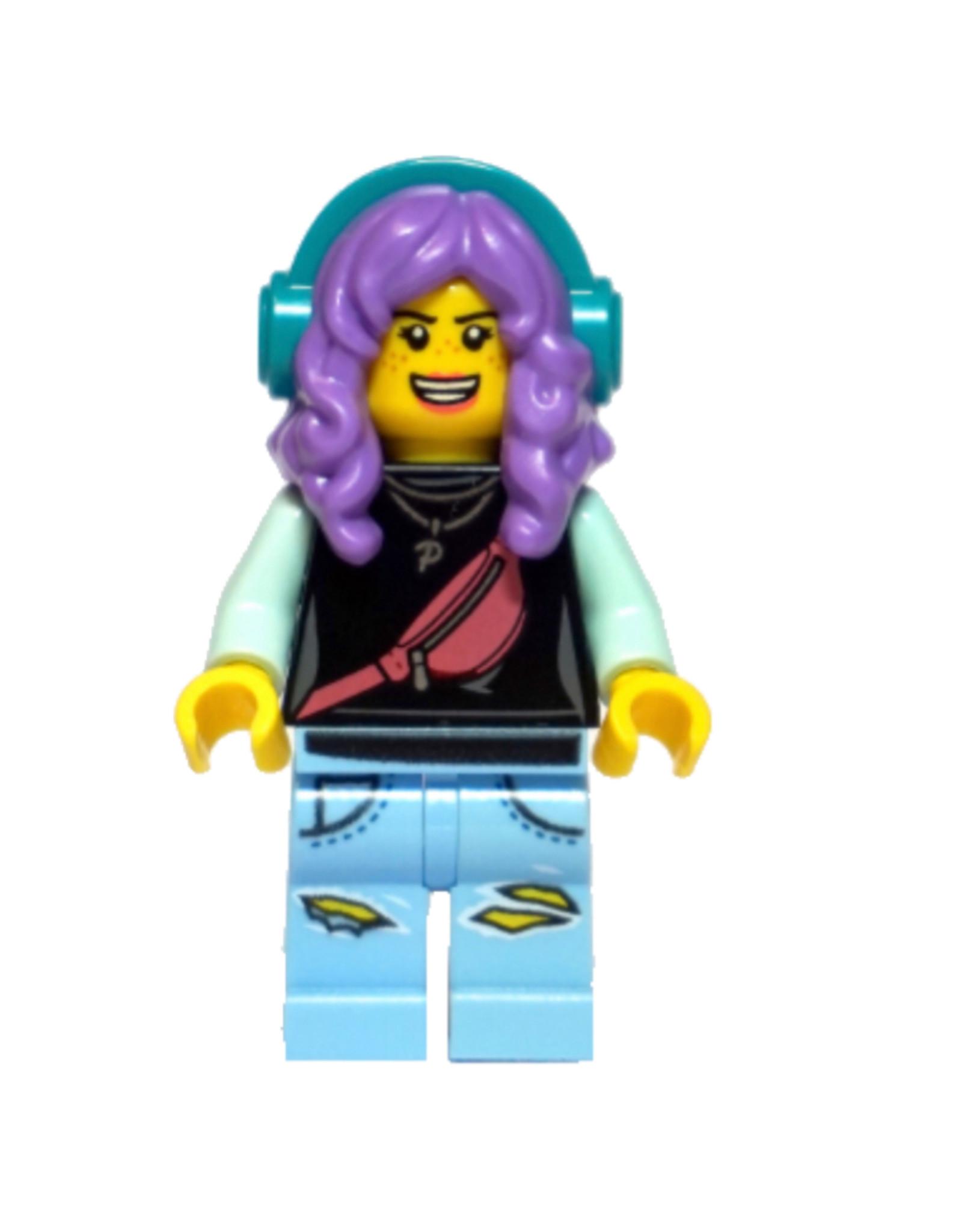 LEGO LEGO Hidden Side Parker L. Jackson minifiguur HS049
