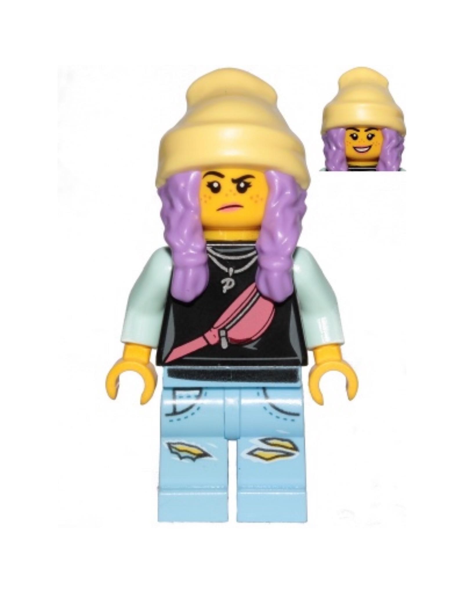 LEGO LEGO Hidden Side Parker L. Jackson minifiguur HS019