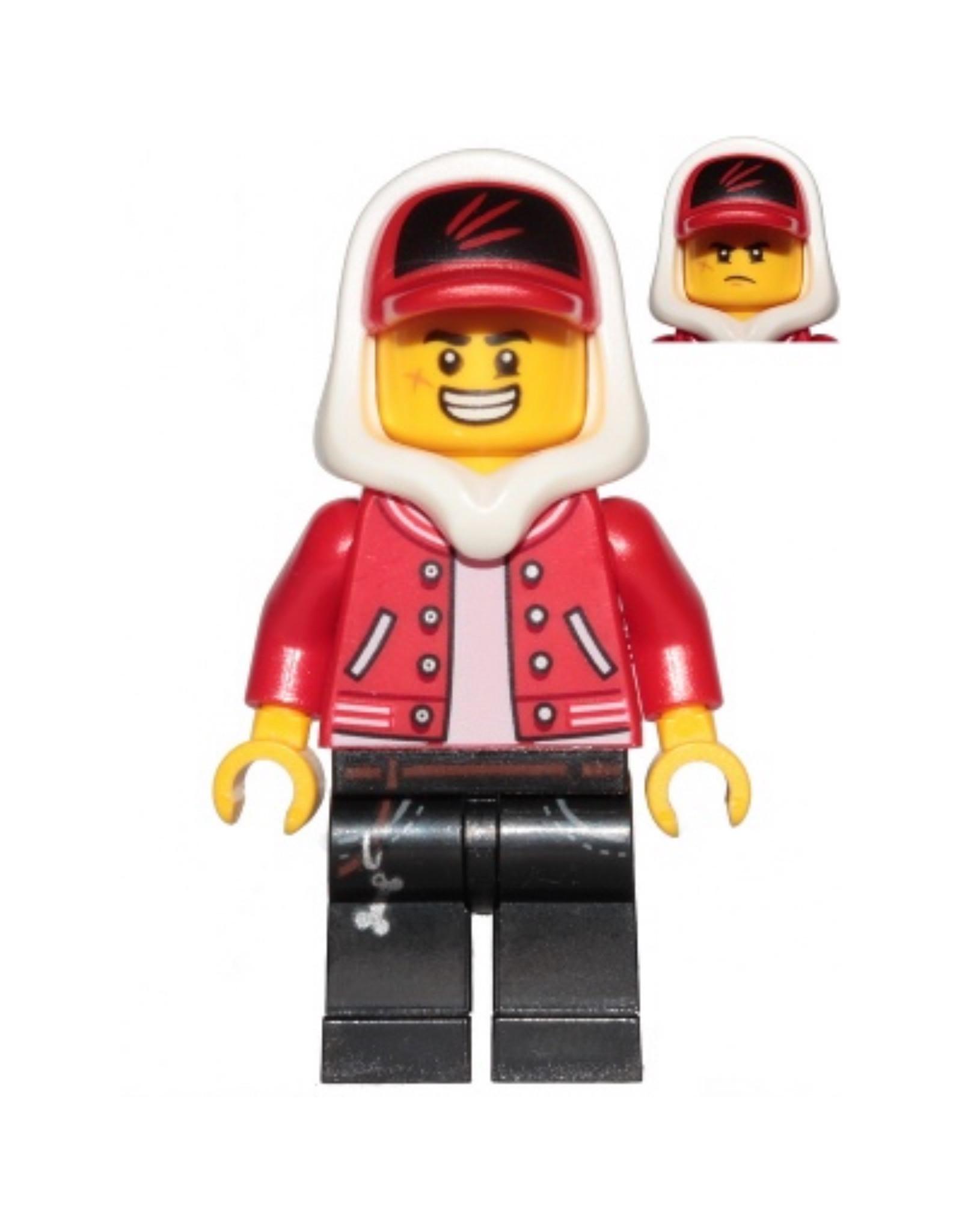 LEGO LEGO Hidden Side Jack Davids minifiguur HS001
