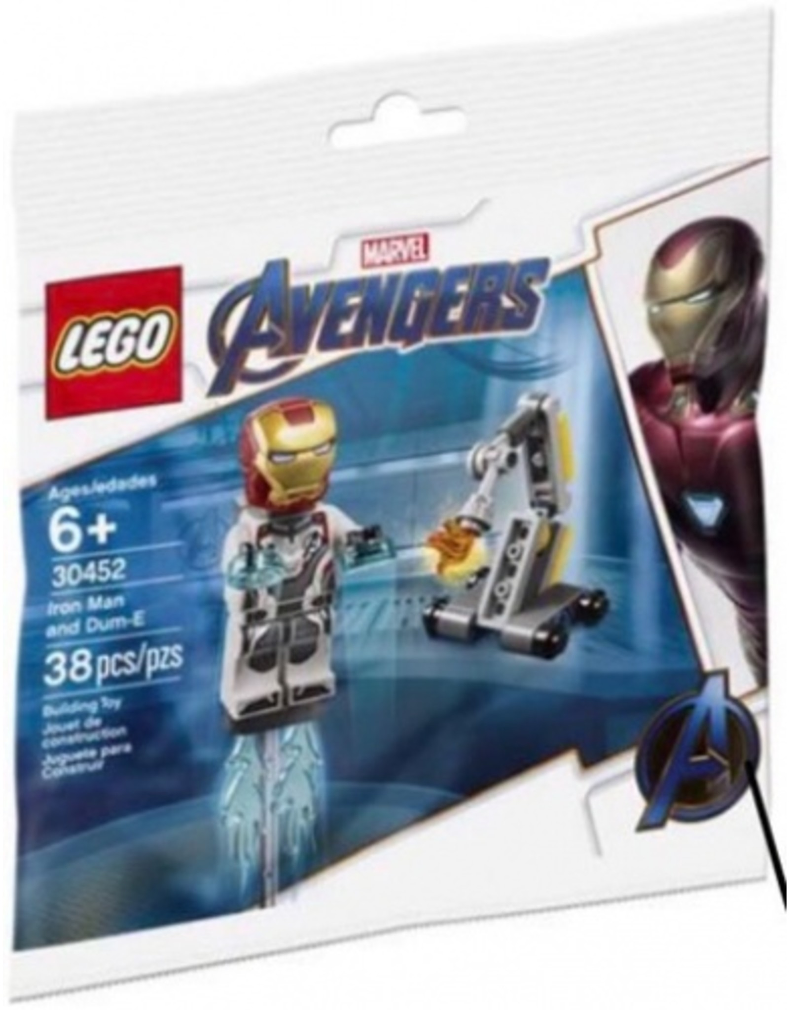 LEGO  LEGO Super Heroes 30452 Iron Man and Dum-E (Polybag)