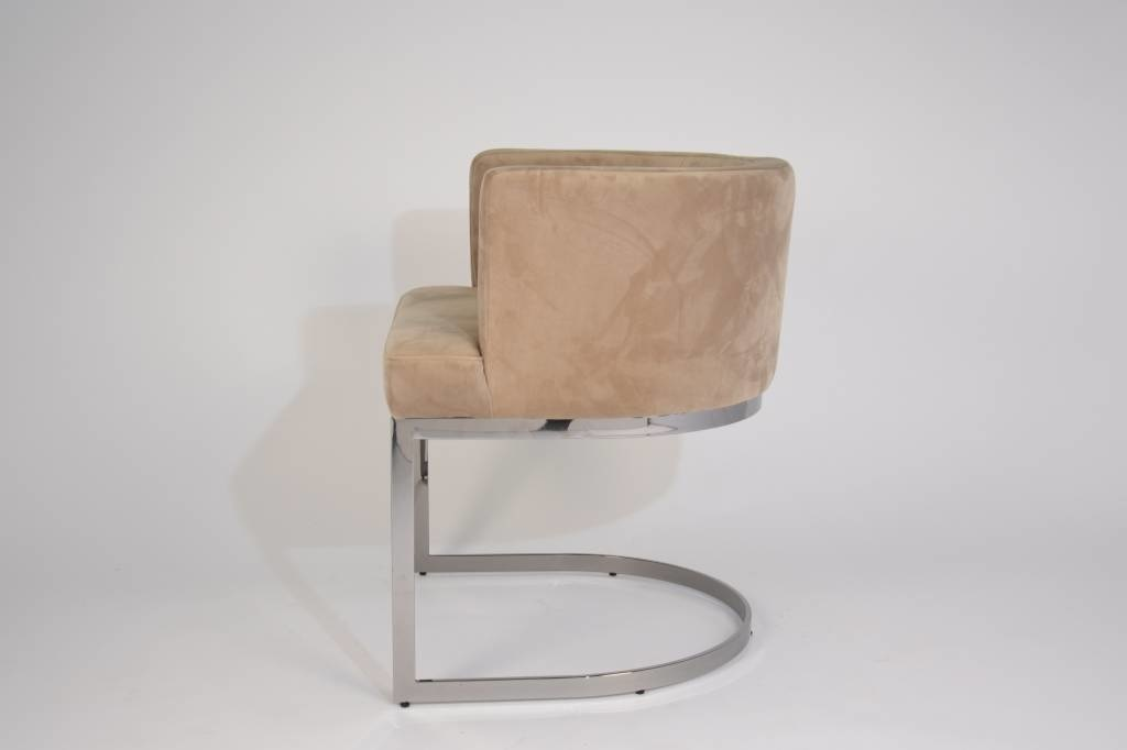 Marvelous Pimlico Dining Chair Taupe Velvet Theyellowbook Wood Chair Design Ideas Theyellowbookinfo