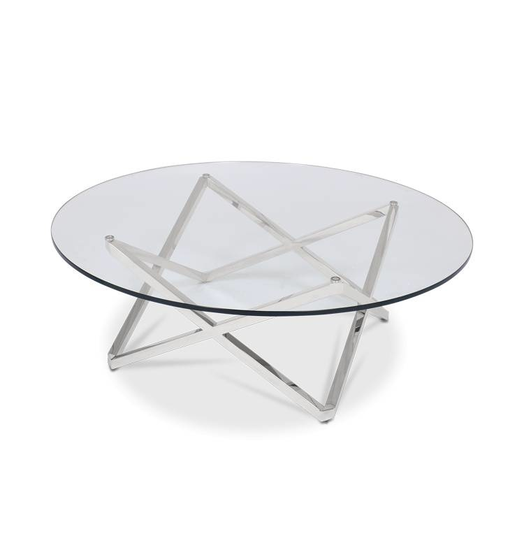 ROME Coffee Table Silver-1