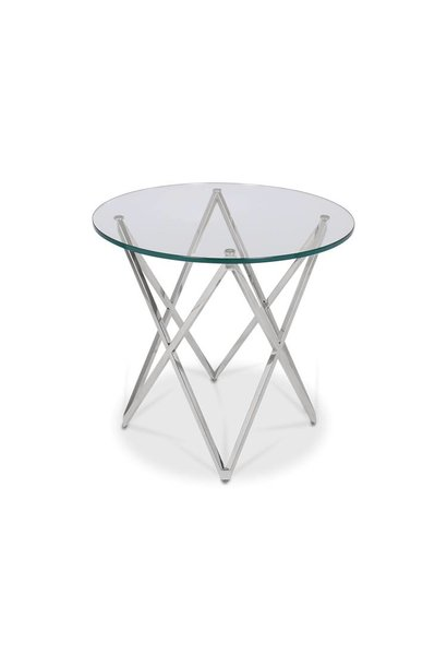 ROME Side Table Silver