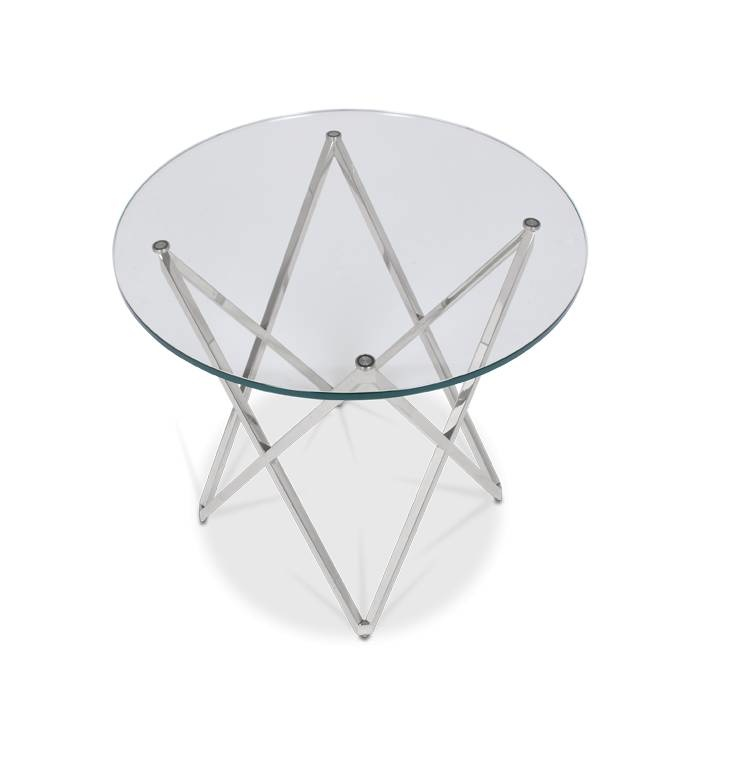 ROME Side Table Silver-3