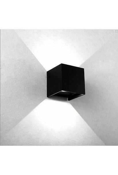 CUBE Wall Light Black