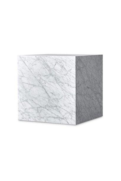 PIENO CARRARA Side Table White