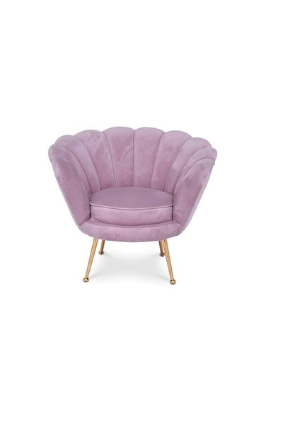TRESOR Shell Chair Pink Velvet