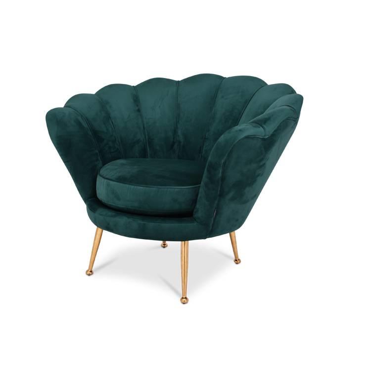 TRESOR Shell Chair Pink Velvet-4