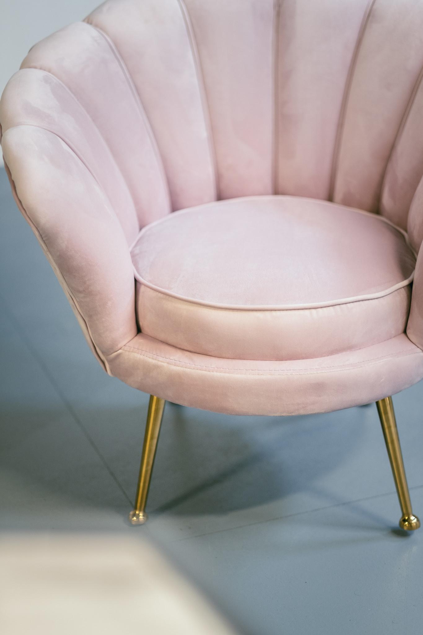KIDS TRESOR Shell Chair Ocean Velvet-5