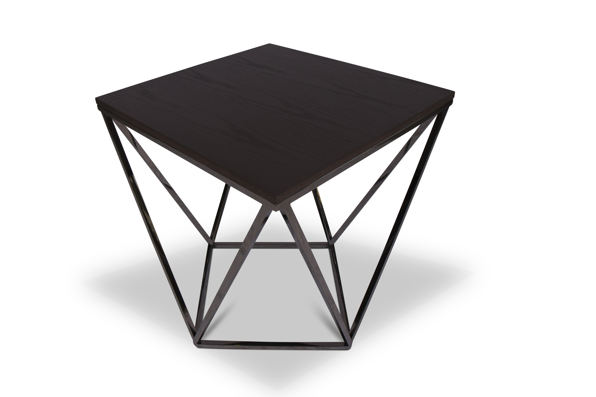 PUGLIA Side Table Charcoal Oak-2