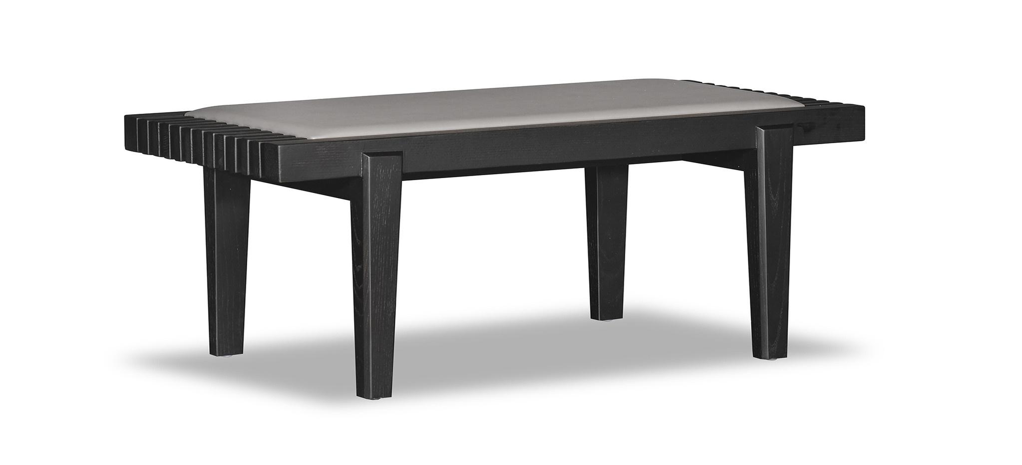 ELIO Bench Beige Leather-2