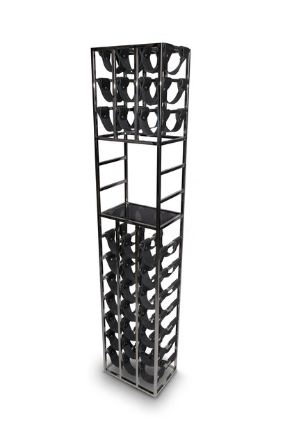 SAINT Wine Rack Silver