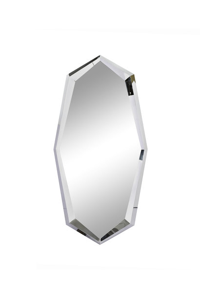 CRYSTAL Wall Mirror Silver 90x180