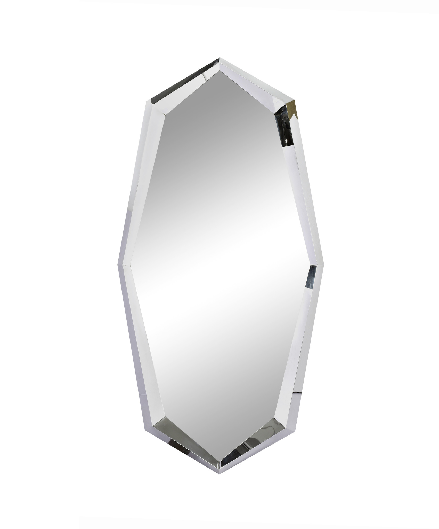 CRYSTAL Wall Mirror Silver 90x180-1