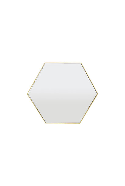 ESAGONO Wall Mirror Gold 100x87