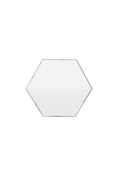 ESAGONO Wall Mirror Silver 100x87