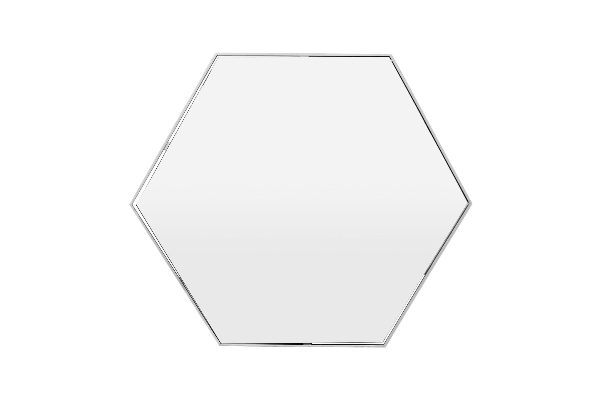 ESAGONO Wall Mirror Silver 100x87-1