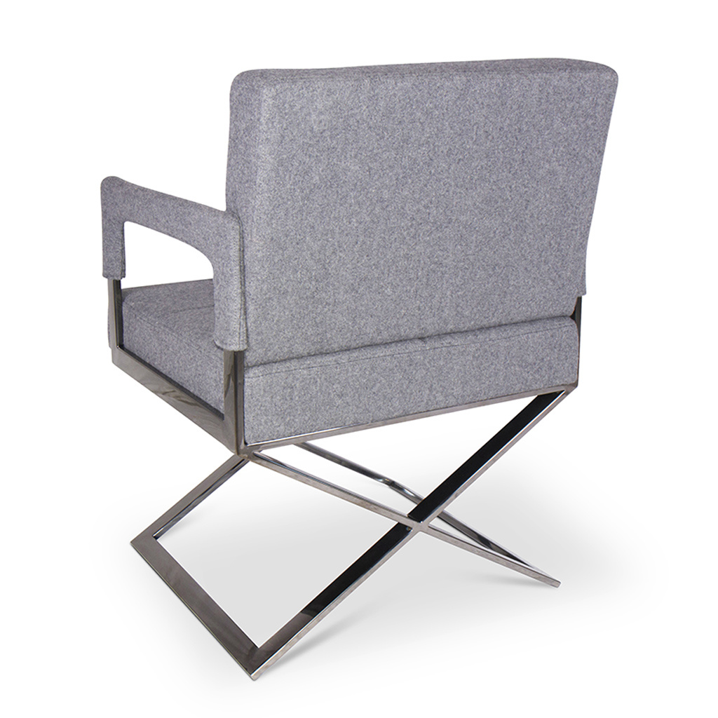 CROSS Arm Chair Mid Grey Cashmere-2