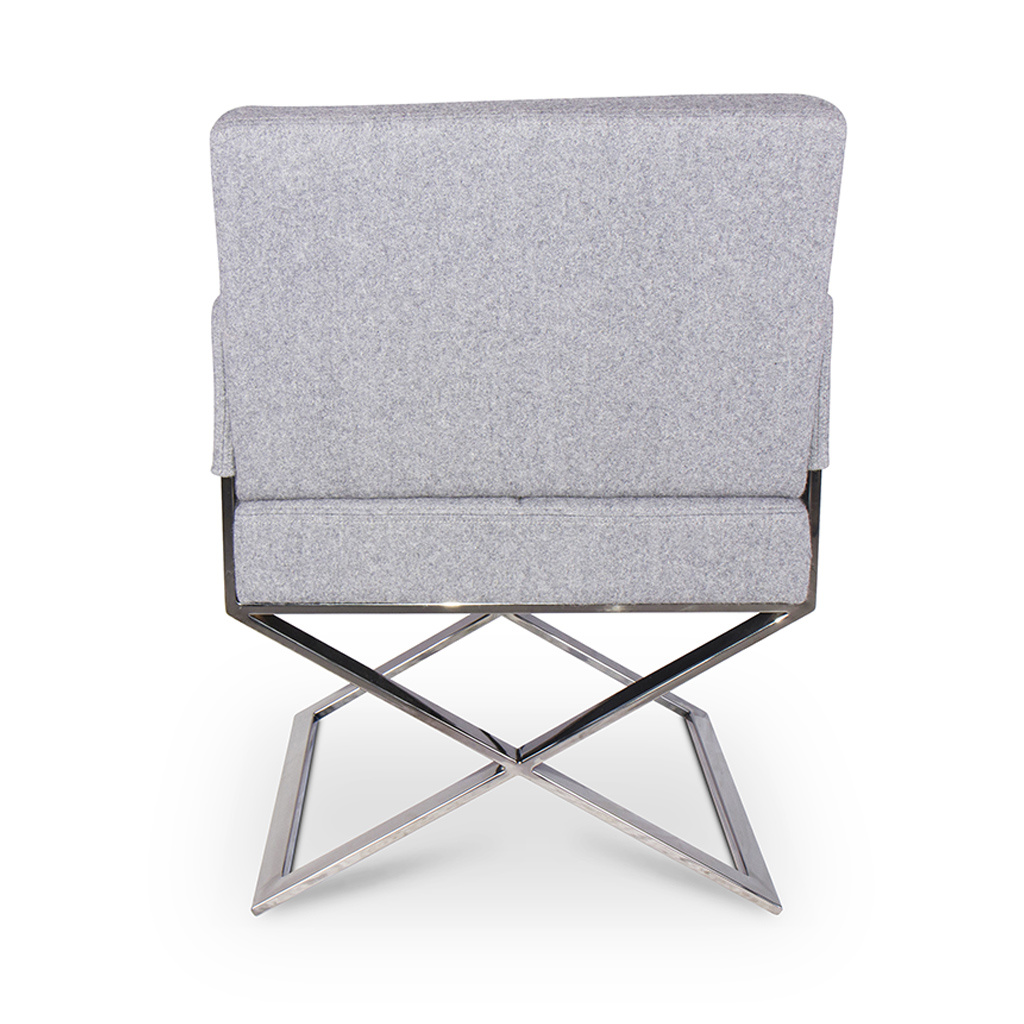 CROSS Arm Chair Mid Grey Cashmere-3