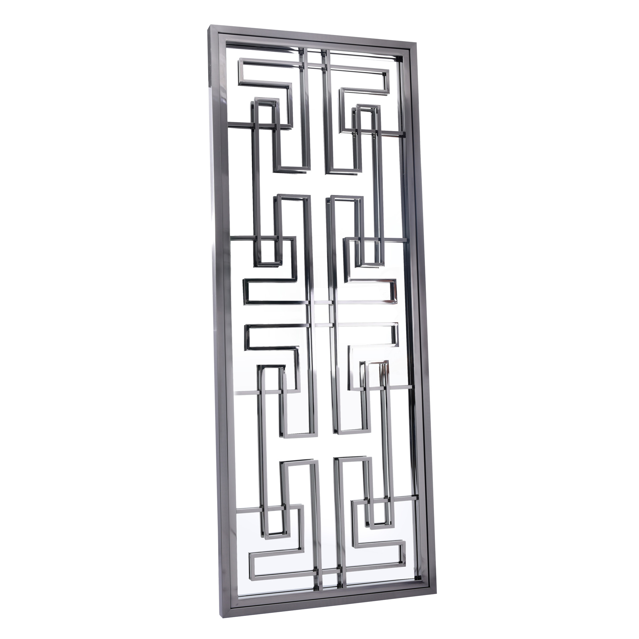 LABYRINTH Wall Mirror Gunmetal 85x220-1