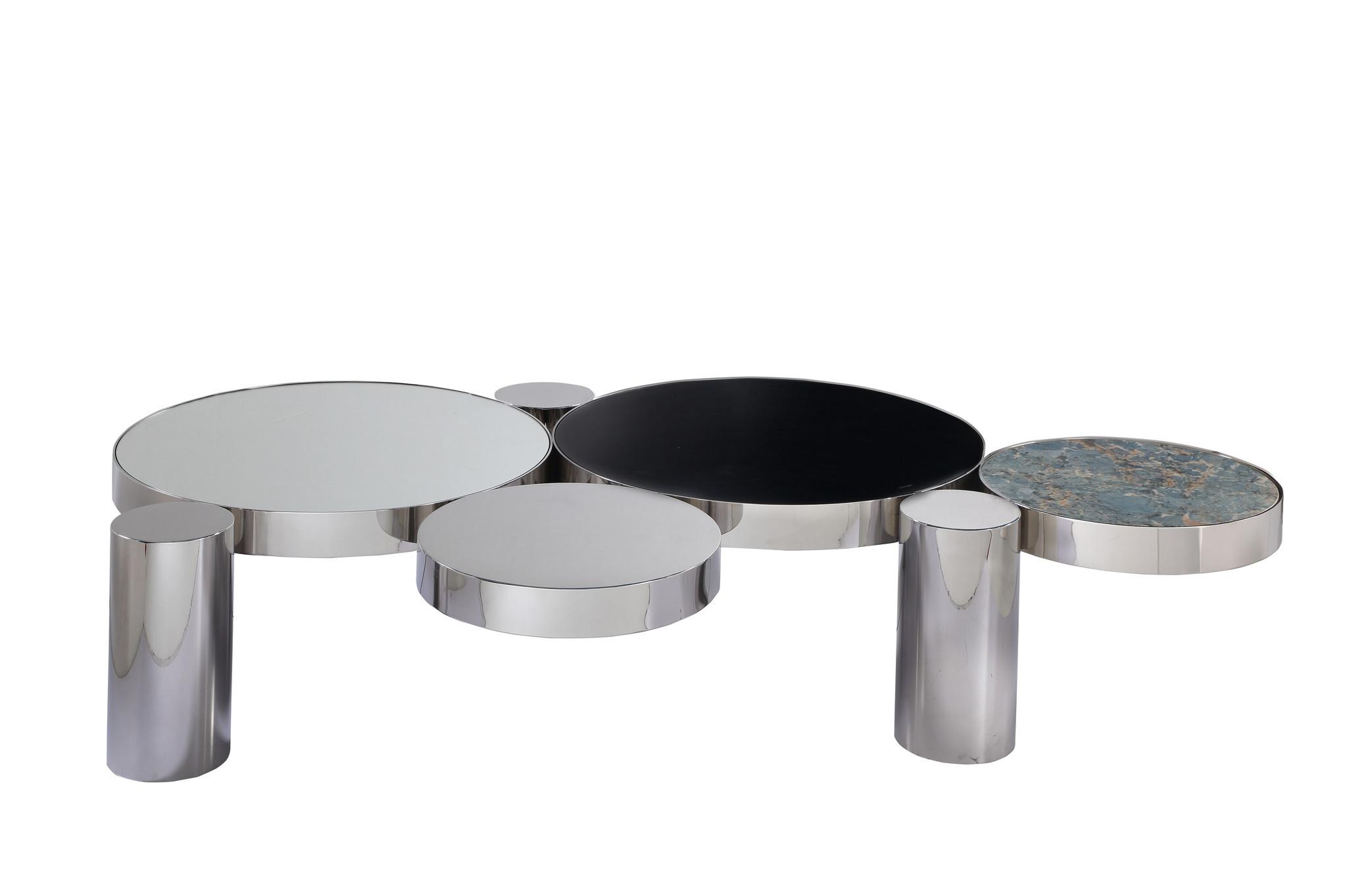 ALBA Coffee Table Silver-1