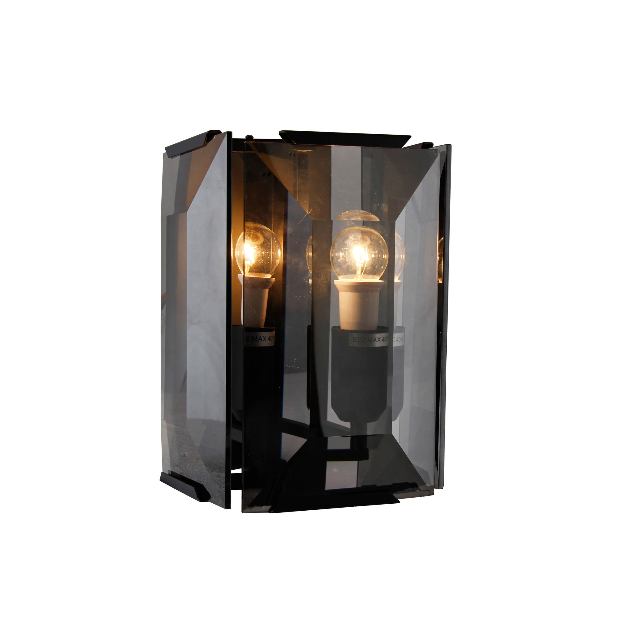 LEVANTO Wall Light Smoke-1