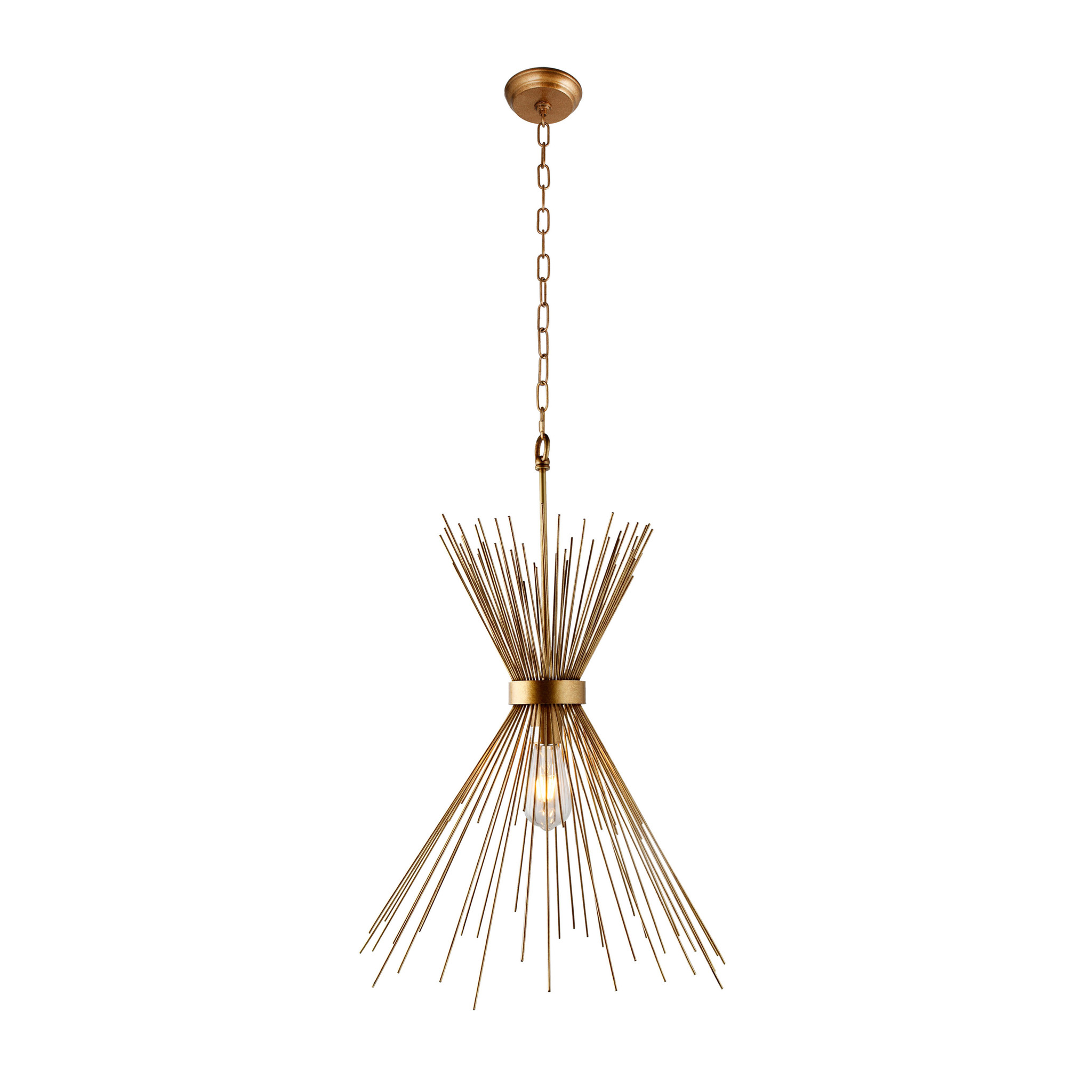 FASCES Ceiling Light Gold-1
