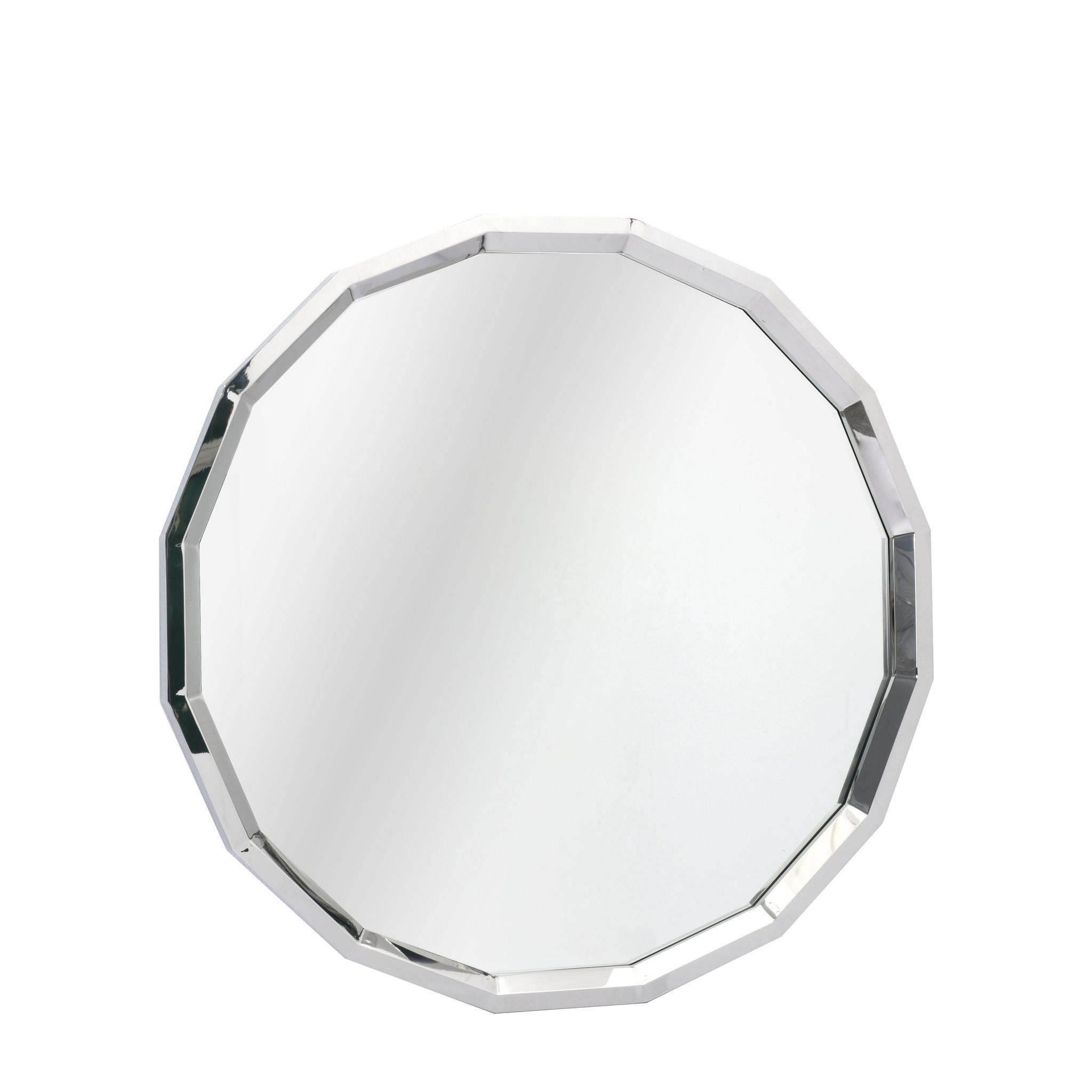 GARNET Wall Mirror Silver-1