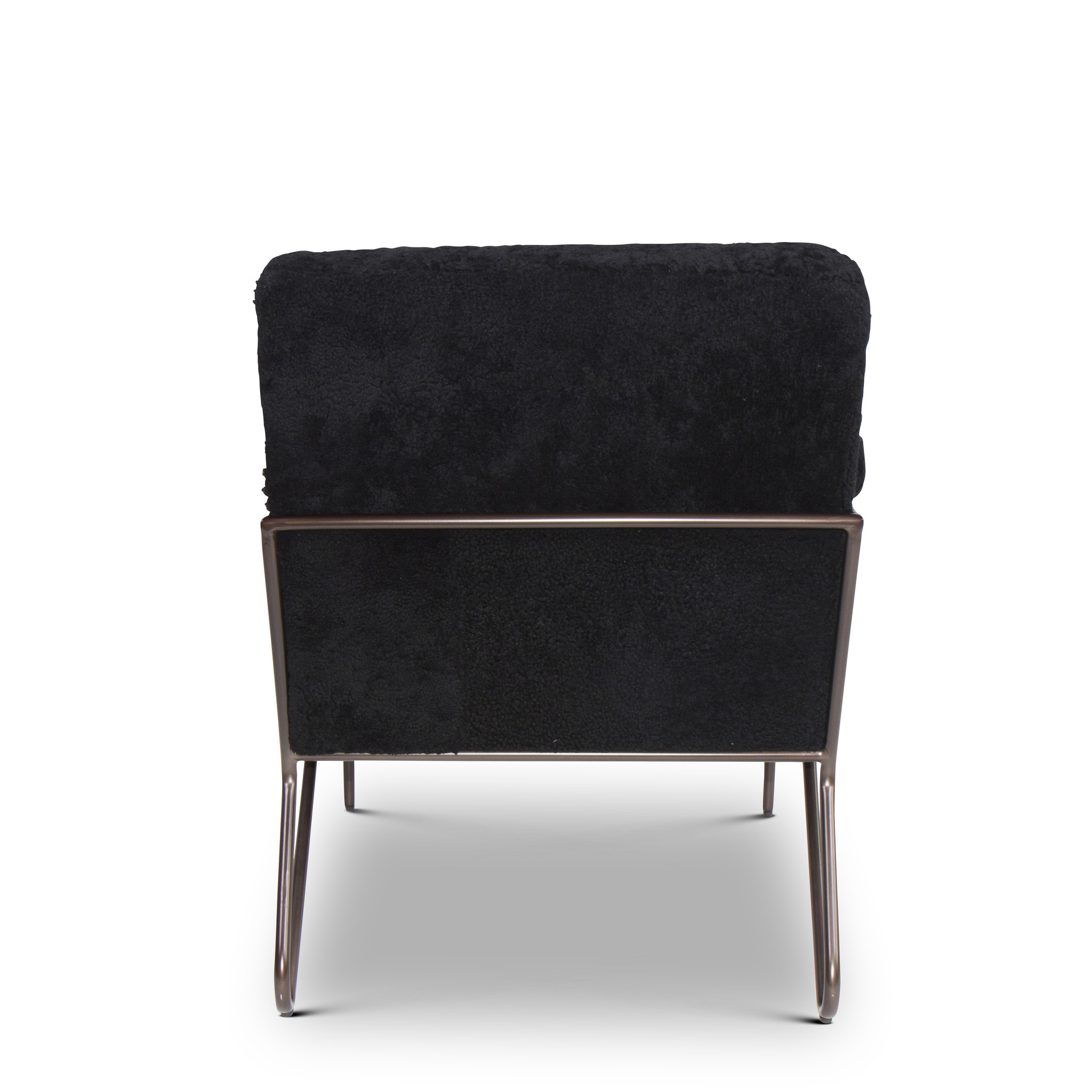 BLACK SHEEP Arm Chair Black Wool-4