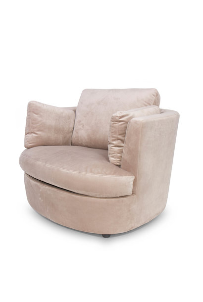 TREVI Arm Chair Champagne Velvet