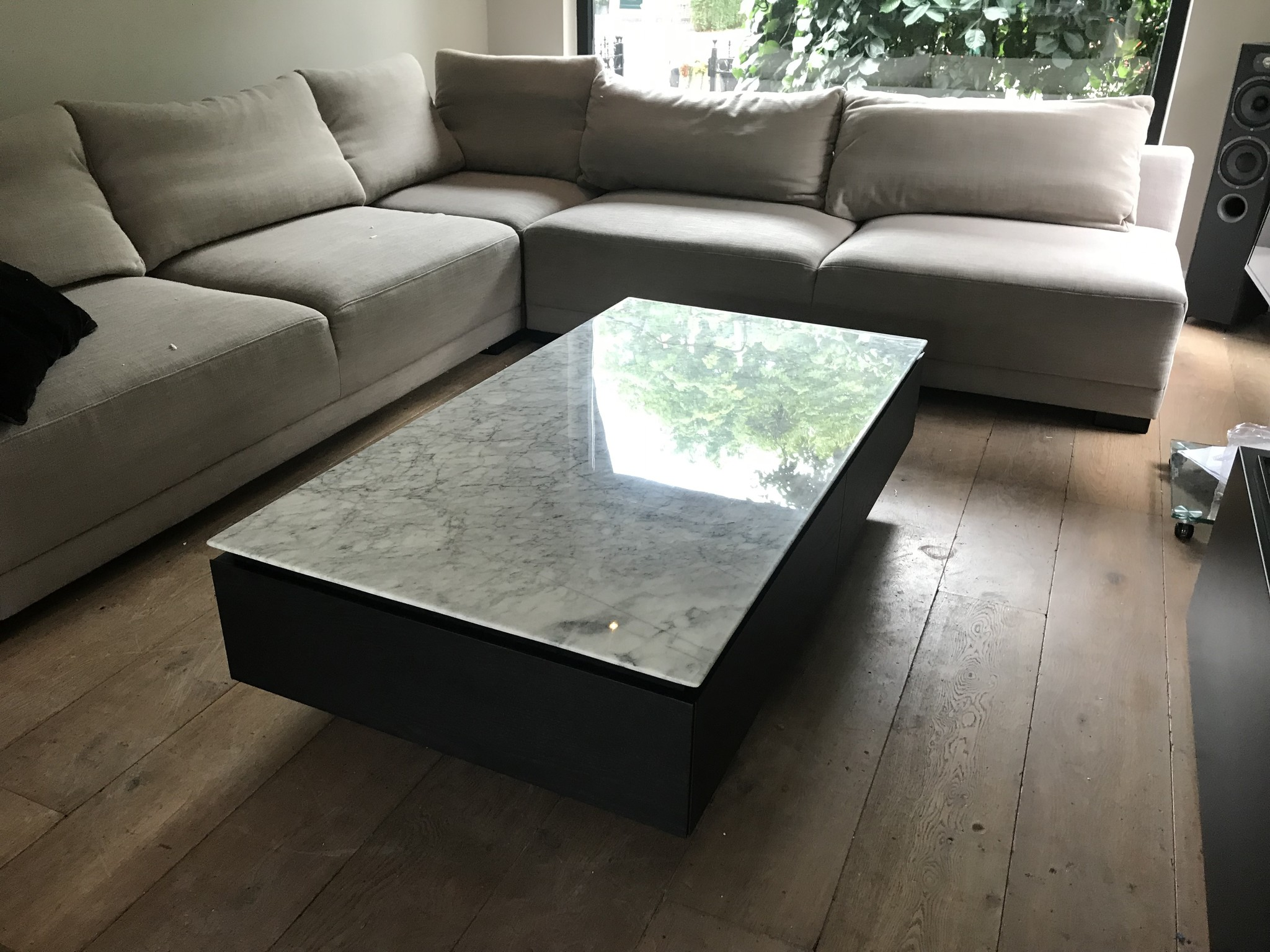 LUCA Coffee Table White Marble-4